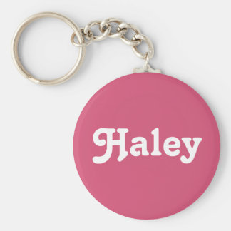 Key Chain Haley