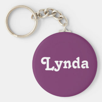 Key Chain Lynda
