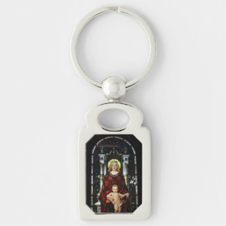 Key Chain--Madonna and Child Key Ring