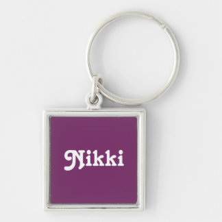Key Chain Nikki
