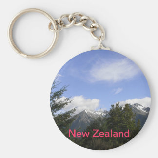 KEY CHAIN - Snow capped Mountains