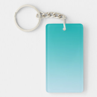 Key Chain: TEAL OMBRE Key Ring