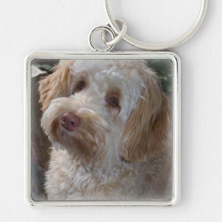 Key Chain With a Doodle on it