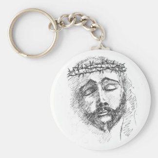 Key Chain with Head of Christ
