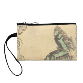 Key Coin Clutch Butterfly VINTAGE Change Purses