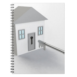 Key Home, Real Estate Agent, Selling Notebooks