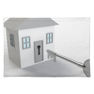 Key Home, Real Estate Agent, Selling Placemat