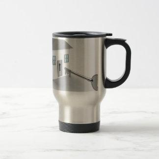 Key Home, Real Estate Agent, Selling Travel Mug