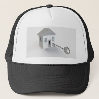 Key Home, Real Estate Agent, Selling Trucker Hat