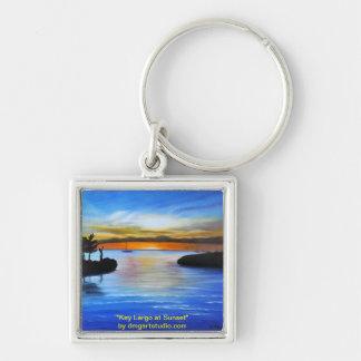 Key Largo at Sunset Key Ring
