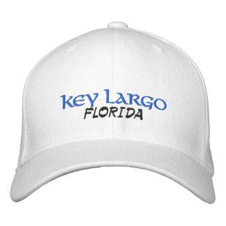 Key Largo Florida Embroidered Baseball Caps