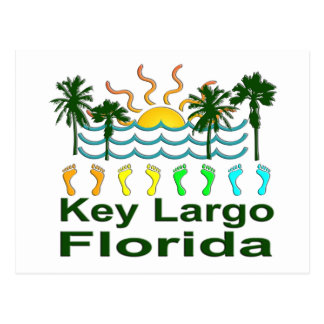 Key Largo Florida Postcard