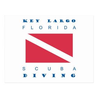 Key Largo Florida Scuba Dive Postcards