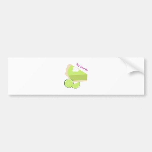 Key Lime Pie Bumper Stickers
