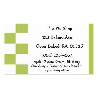 Key Lime Pie Colors Business Card