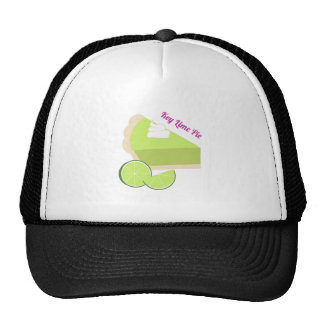 Key Lime Pie Mesh Hat