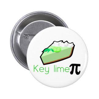 Key Lime Pie Pinback Button
