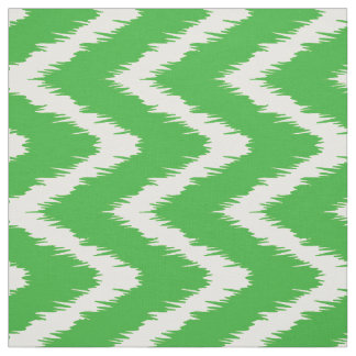 Key Lime Southern Cottage Chevrons Fabric