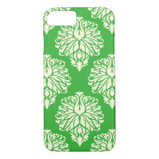 Key Lime Southern Cottage Damask iPhone 8/7 Case