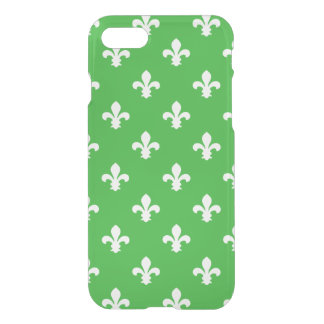Key Lime Southern Cottage Fleur de Lys iPhone 8/7 Case