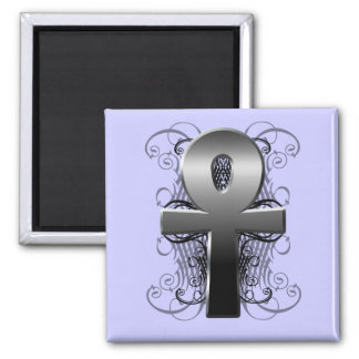 """Key of Life (Ankh)"" in Chrome Magnet"