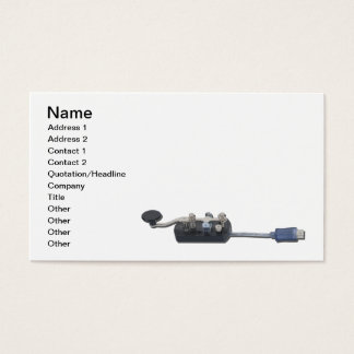 Key Online Communication Business Card