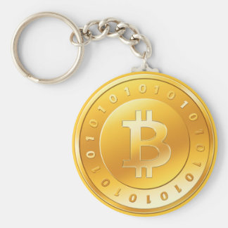 Key ring Bitcoin - M1 Basic Round Button Key Ring