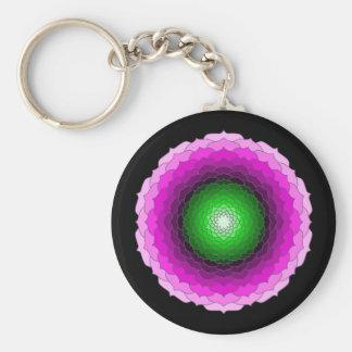 Key-ring Fleur Mandala 2 Key Ring
