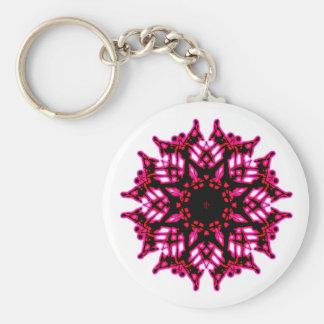 Key-ring Fleur Mandala Key Ring