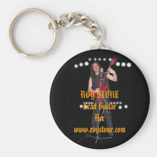 KEY RING, ROY STONE Lead Guitar Ace  ... Key Ring