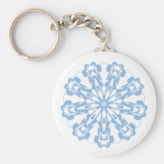 Key-ring Softnesses Pastel Fractal Mandala 2 Key Ring