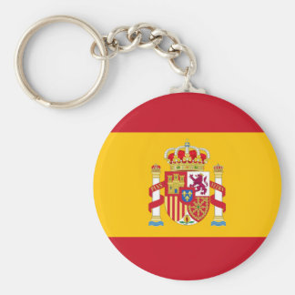 key ring Spanish flag