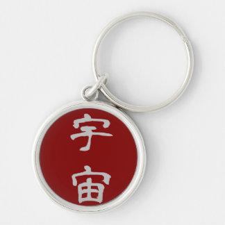 Key Ring: Universe (Uchuu) - Red Key Chain