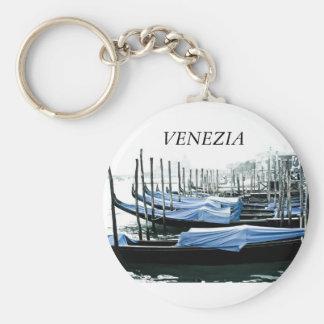 "Key ring ""VENICE "" Basic Round Button Key Ring"