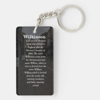 Key Ring With Family Name Meaning & Crest