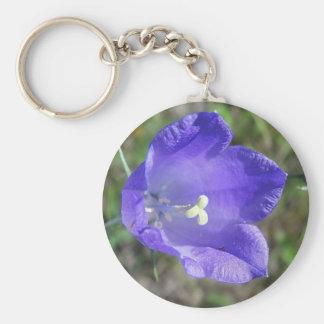 Key supporter blue alpine bellflower keychains