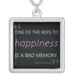 Key to Happiness / Bad Memory Necklace