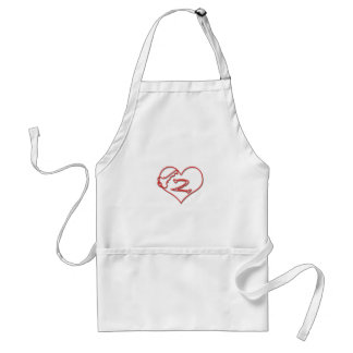 Key To My Heart Adult Apron