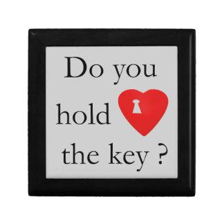 key to my heart box small square gift box