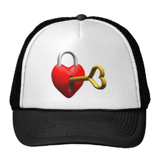 Key To My Heart T-shirts and Gifts Trucker Hats