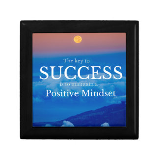 Key to Success Inspirational Quote Gift Box