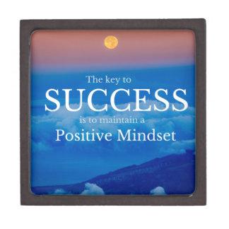 Key to Success Inspirational Quote Premium Gift Box