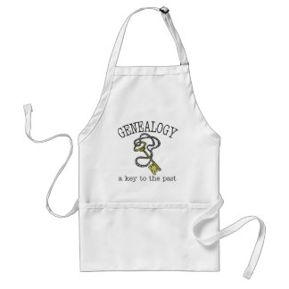 Key To The Past Standard Apron