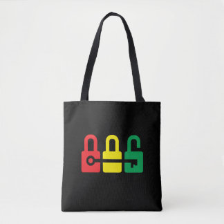 Key to your lock tote bag