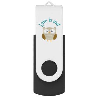 """Key usb """"Coils is owl """" USB Flash Drive"""