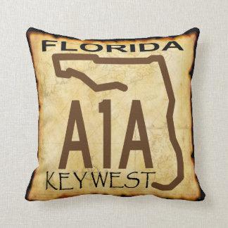 Key West A-1-A Pillow