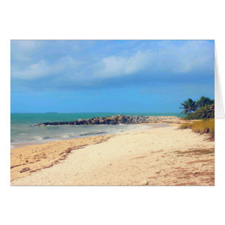 Key West Beach, Fort Zachary Taylor State Park Card