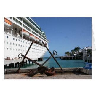 Key West - Blank Greeting Card