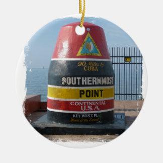 Key West Ceramic Ornament