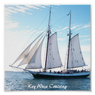 Key West Cruising Poster